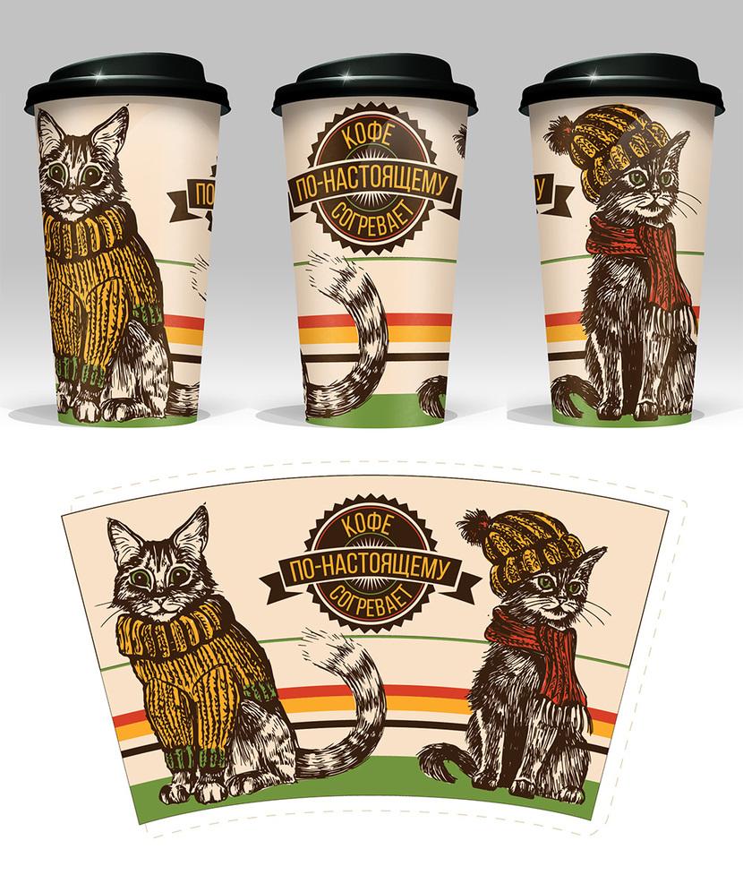 дизайн кофе на вынос