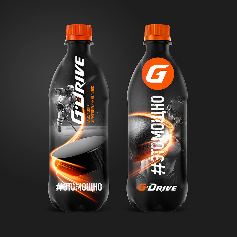 Энергетический напиток PulseUp Drive ж.банка 450 мл (0,45 ...