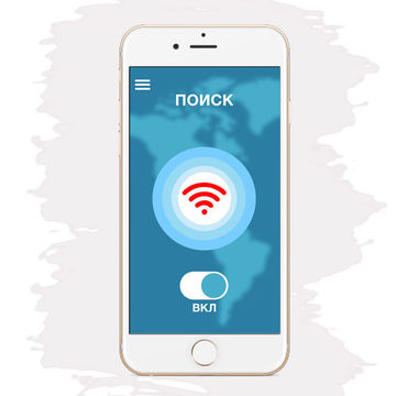 Разработка дизайна приложения VPN irocket 2